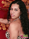 Latin shemale erotic show