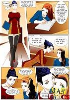 Shemale In Stockings Comic