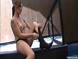 Pretty Tranny solo outdoor