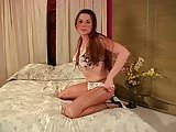 Kimberly in pantyhose solo
