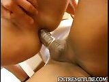 Latina TS fucking horny guy