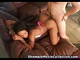 Brazilian Shemales Analed and Jizzed!