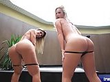 Hot Tgirls with perfect bodies twosome