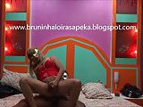 Interracial brazilian crossdresser gets anal