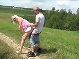 Dirty Slut Gets Another Outdoor Fucking