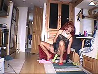 Raunchy Transgender Toying & Beating Off