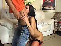 Hot tranny Sabrina Rios ramming