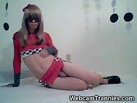 Hot Amateur Pit Tgirl