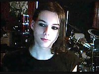 Hot emo teen shemale cam cums