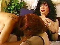 Nasty Tgirl With A Kitty In Vintage Clip