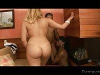 Rafaela Gisele In Interracial TS Bonking