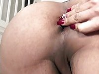 Amateur ass fingering