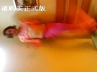 Chinese TS model hot video