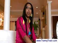 Meeting with ebony TS sweetie