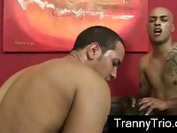 Tranny love with straight guys