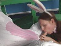 Bandit Bunny Drills a Tranny