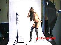 Gabrielle Love - BTS Nipple Clamp Shoot