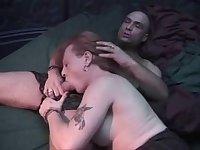 Mature tranny has a sweet ass