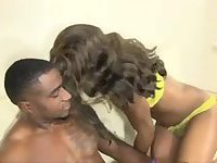 Black tranny ass penetrated