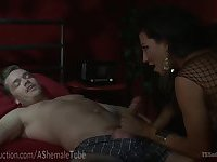 Cheater Is Punished With Hot TS Cock