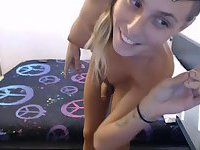 Webcam cutie is at your service