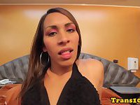 Bigbooty tranny doggystyled by super cock