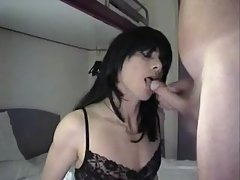 Doggy fuck for slender shemale  at passionclips.com