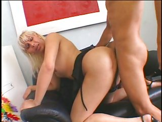 Delightful Banging For A TS Blonde