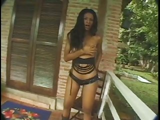 Outddor hot anal for pretty latina