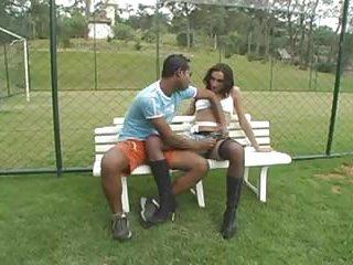 Sudden sex on a banch